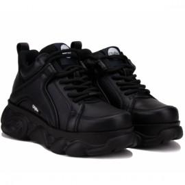 Ботинки buffalo london 16301201 37(6,5)(р) black кожа