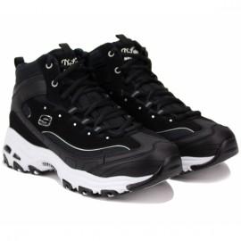 Ботинки skechers 66666250 blk (kw6072) 37(7)(р) black кожа