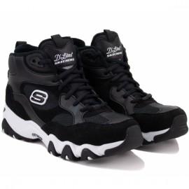 Ботинки skechers 88888382/blk (kw6066) 35(5)(р) black замша