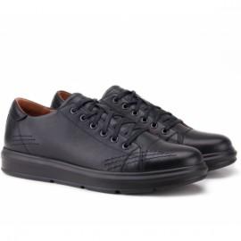 Wishot(t) 671-blk 40(р) туфли black 100% кожа