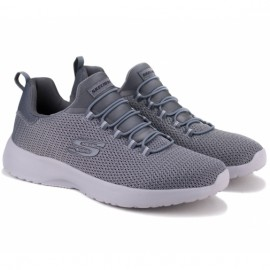 Кроссовки skechers dynamight 58360 char (km3072) 42(9)(р) grey текстиль
