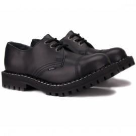 Steel 101/102o-blk 39(р) туфли black 100% кожа