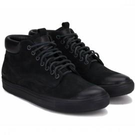 Wishot(t) 906-022-b 44(р) ботинки black 100% кожа