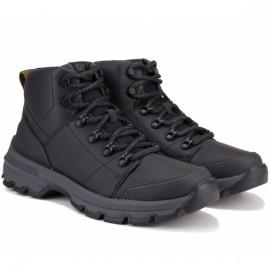 Ботинки caterpillar cantilever fleece p724055 42(9)(р) black кожа