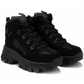 Ботинки skechers street blox 155260 bbk (kw6057) 36(6)(р) black замша