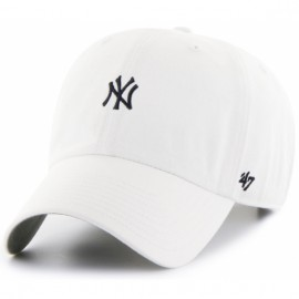 47 brand base runner ny yankees b-bsrnr17gws-wh o/s(р) кепка white материал
