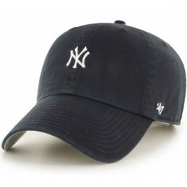 47brand base runner new york yankees b-bsrnr17gws-bk o/s(р) кепка black материал