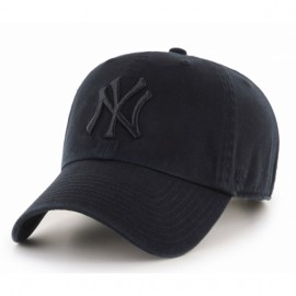 Кепка 47 brand new york yankees clean up rgw17gws-bki o/s(р) black текстиль