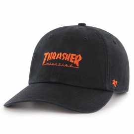 Кепка 47 brand clean up mlb sf giants x trasher black текстиль