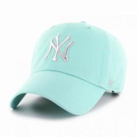 Кепка 47 brand new york yankees clean up b-mtclu17gws-tf o/s(р) mint хлопок