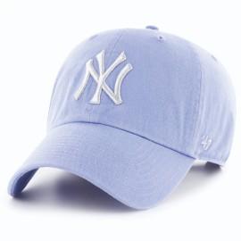Кепка 47 brand new york yankees clean up b-mtclu17gws-os o/s(р) blue metallic хлопок