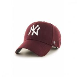 Кепка 47 brand new york yankees mvp17wbv-kma bordo