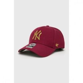 47 brand mvp snapback metallic new york mtlcs17wbp-gx red
