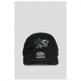 Кепка 47 brand san jose sharks h-rgw22gws-bk o/s(р) black хлопок