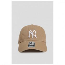 Кепка 47 brand new york yankees clean up rgw17gws-kha o/s(р) beige хлопок