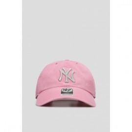 Кепка 47 brand new york yankees metallic b-mtclu17gws-rs pink хлопок
