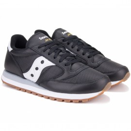 Кроссовки saucony jazz original leather s70461-1 43(9,5)(р) black 100% кожа