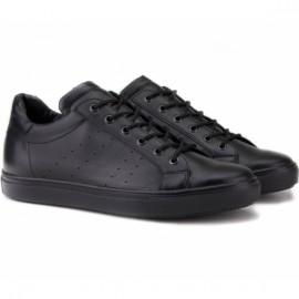 Wishot(c) 76144/61 40(р) кроссовки black/black 100% кожа