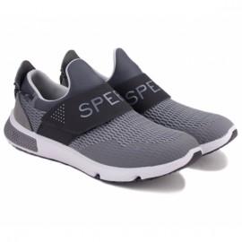 Sperry 7 seas slip on sts17686 44(10,5)(р) кроссовки grey/black материал