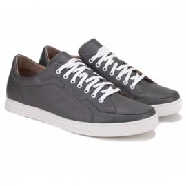 Wishot(t) 658-308-gr 41(р) туфли grey 100% кожа