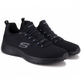 Кроссовки skechers dynamight 58360/bbk(km3059) 41(8)(р) black/black текстиль