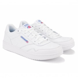 Кроссовки skechers relaxed fit 52714/wht (km3074) 43(10)(р) white кожа