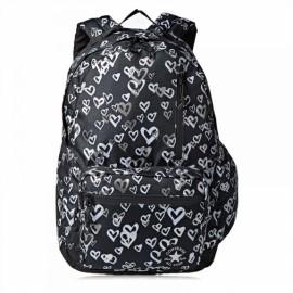 Рюкзак converse go backpack 10006824-001 o/s(р) black/silver полиэстер
