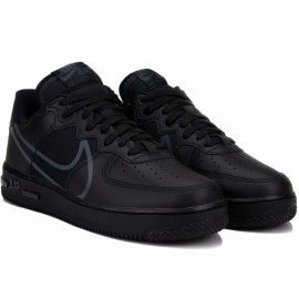 Кроссовки nike air force 1 react ct1020-002 42(8,5)(р) black кожа