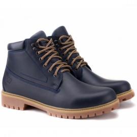 Wishot(t) 7751-155-nv 41(р) ботинки navy 100% кожа/шерсть