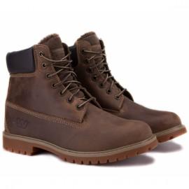 Wishot 31-988m-br ботинки brown нубук