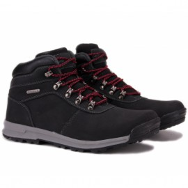 Wishot 31-996m-bk ботинки black нубук