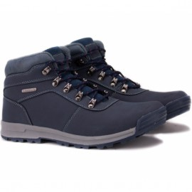 Wishot 31-996m-nv ботинки navy нубук