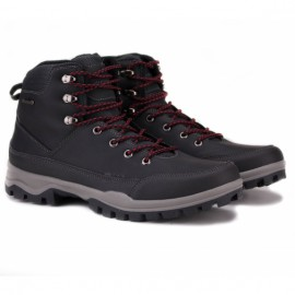 Wishot 31-998m-bk ботинки black нубук