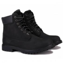 Wishot 31-988m-bk/bk ботинки black/black нубук