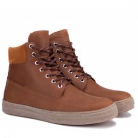Wishot(c) 6033/134-135 40(р) ботинки l.brown нубук