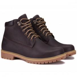Wishot(t) 7751-177-brn 41(р) ботинки brown 100% кожа/шерсть