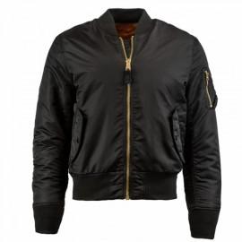 Alpha industries ma-1 slim fit flight jacket mjm44530c1 m(р) black нейлон