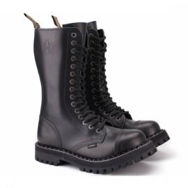 Steel 135/136o-blk 45(р) ботинки black 100% кожа