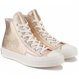 Кеды converse 70 metallic leather high top 561730c 39(8)(р) gold 100% кожа