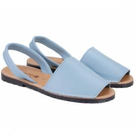Menorquina 550-celeste-piel 37(р) менорки blue кожа