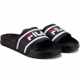 Шлёпанцы fila morro bay slipper 1010930-25y 42(9)(р) black резина