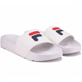 Шлёпанцы fila boardwalk slipper 1010959-1fg 41(9,5)(р) white резина