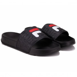 Шлёпанцы fila boardwalk slipper 1010959-25y 37(6)(р) black резина