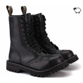 Steel 105/106ocw-blk 42(р) ботинки black 100% кожа шерсть