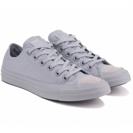 Кеды converse chuck taylor all star ox 563467c 40(9)(р) grey текстиль