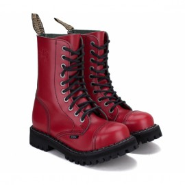 Ботинки steel 105/106o-fr 40(р) full red 100% кожа