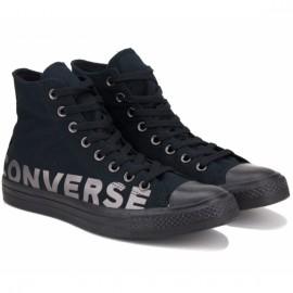 Кеды converse chuck taylor all star wordmark hi 165429c 39(6)(р) black текстиль