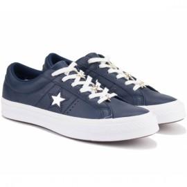 Кеды converse one star 165021c 38(5,5)(р) navy кожа