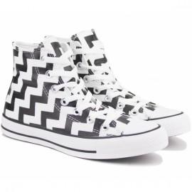 Кеды converse chuck taylor all star glam dunk 565213c 39(8)(р) black/white текстиль