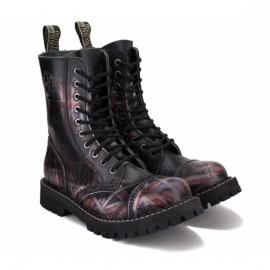 Ботинки steel 105/106o-u/b 41(р) ботинки uk black 100% кожа